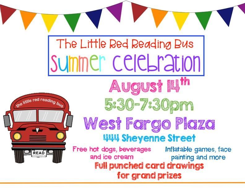The Little Red Reading Bus Summer Celebration