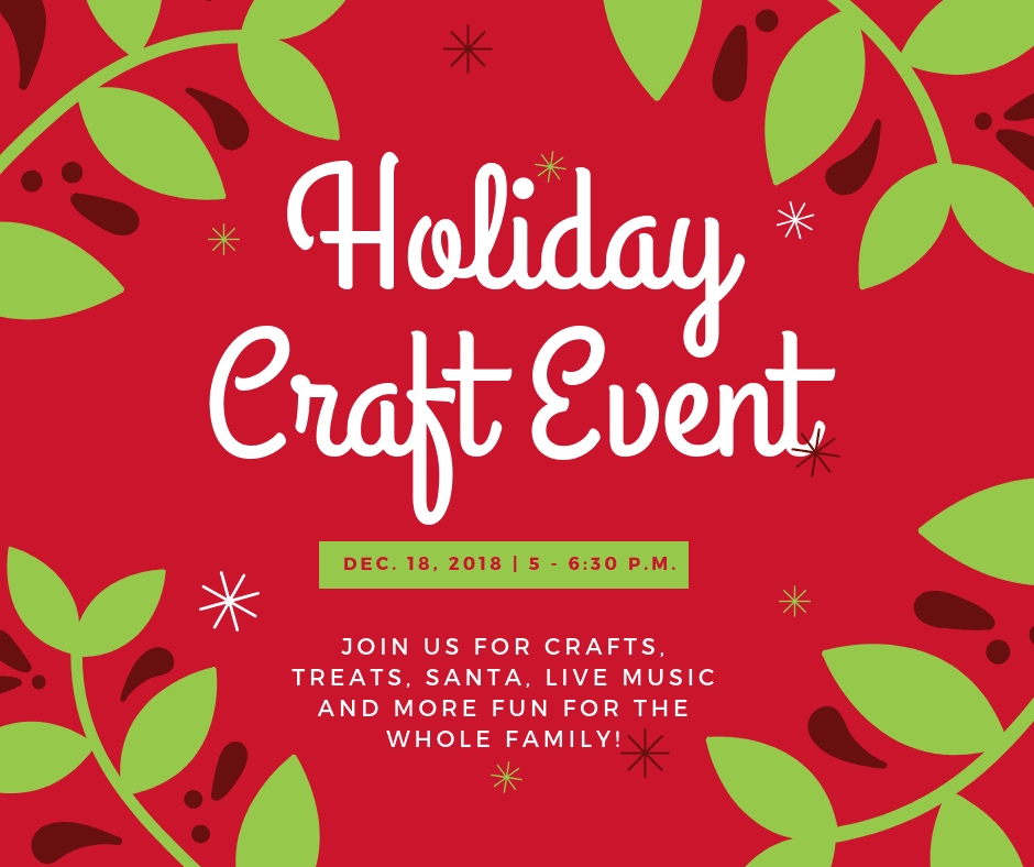 FB Holiday Craft Event
