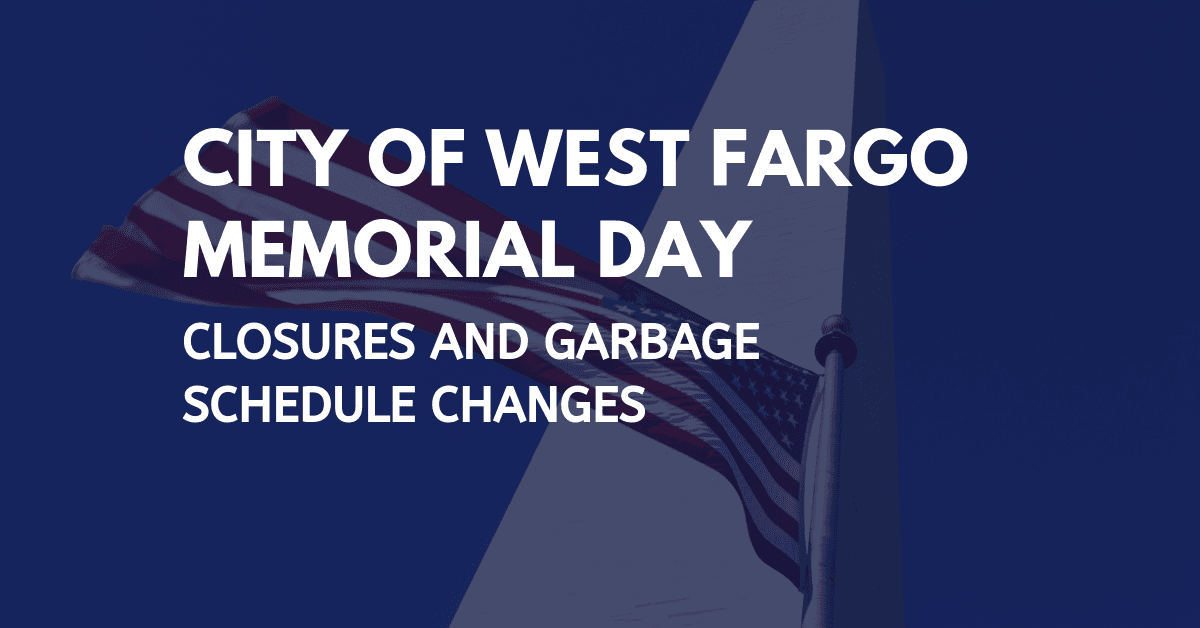 Memorial Day announcement