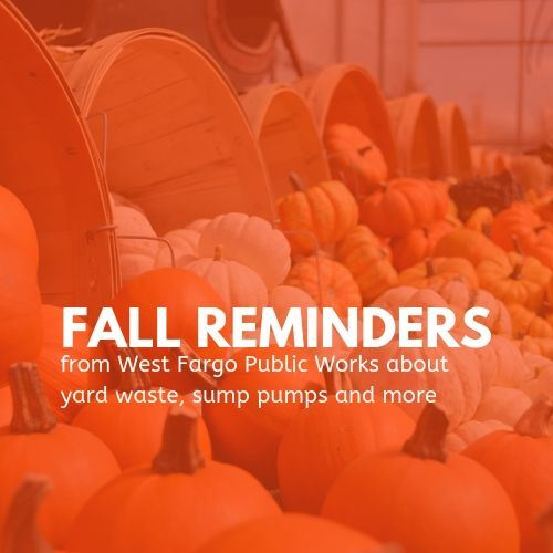 Fall reminders from Public Works