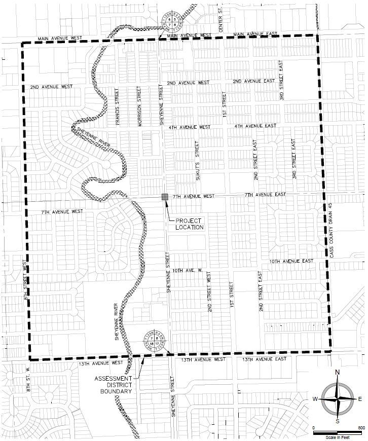 Sheyenne Street and Seventh Ave Special Assessment District